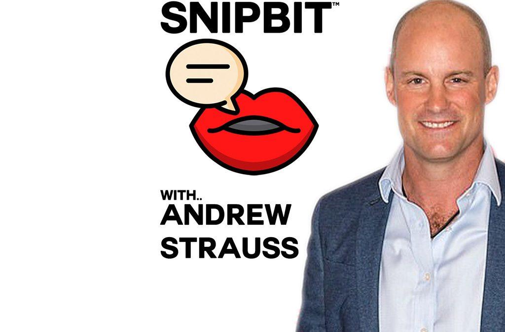 Andrew Strauss SnipBit